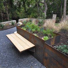 contemporary landscape by Articulated Design