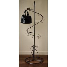 Spiral Purse Display Tree Rack by Giftsforyounme on Etsy, $114.00