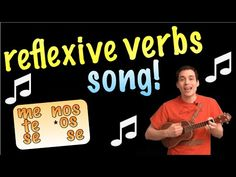 Reflexive Verbs Made Easy With a Song! (Spanish Lesson) - REUPLOAD - YouTube