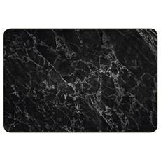 Black Marble Rectangular Placemat-kitchen+dining-crave