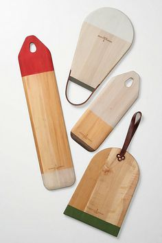 Colorblocked Baguette Board