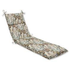 Tamara Paisley Quartz Chaise Lounge Cushion