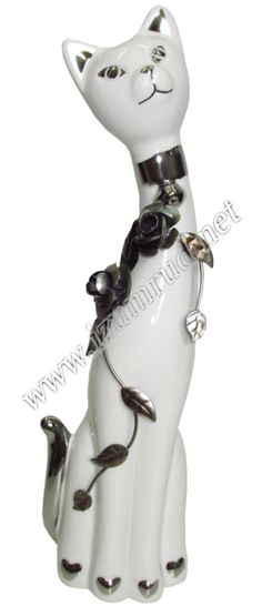 Кошка-фигура (9*7*31см) FA-31745  арт.: 53109