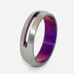 Minter + Richter | Titanium Rings - Let Your Love Shine Through. Mike's Wedding Band.