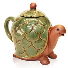 Terry the Turtle Teapot..