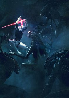501st Legion: Vader's Fist VS Space Cockroaches 3, Guillem H. Pongiluppi on ArtStation at https://www.artstation.com/artwork/DY8rO