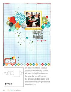 ISSUU - Life. Paper. Scrapbook. by Life Paper Scrapbook Scrapbook Paper, Scrapbooking, Bright Colors, Colours, Online Publications, 2 Photos, Lps, Giving, Embellishments