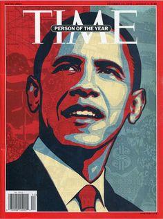 "Time Magazine cover ""Barack Obama"" by Shepard Fairey / December Admire the man, love the magazine cover. Time Magazine, Korean Magazine, Paper Magazine, Magazine Covers, Ideas Magazine, Magazine Images, Barack Obama, Obama President, Finding Nemo"
