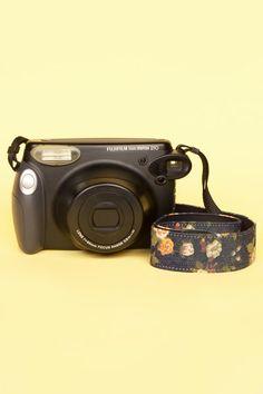 Denim Floral Camera Strap!#flowershop
