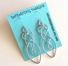 Celtic Friendship Knot Earrings  customize by RefreshingDesigns, $14.00