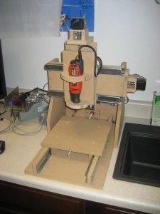 Cnc Router Plans, Diy Cnc Router, Cnc Plans, Woodworking Jigs, Woodworking Projects, Make 3d Printer, Arduino Cnc, Cnc Milling Machine, 3d Printer Designs