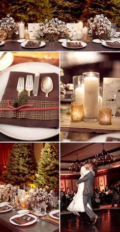 Vintage & Chic {love notes}: para novias poco convencionales: {Toda la magia de una boda en invierno}