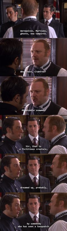 Crabtree theories. Murdoch Mysteries.