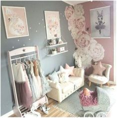 58 Ideas Baby Girl Nursery Pink And Grey Colour Palettes - Best Baby Girl Nursery ideas Baby Girl Nursery Pink And Grey, Baby Girl Nursey, Colour Palettes, Nursery Ideas, Pink Grey, Toddler Bed, Gray Color, Furniture, Home Decor