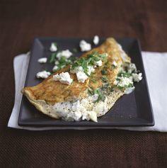 Mit Feta gefülltes Omelette | http://eatsmarter.de/rezepte/mit-feta-gefuelltes-omelette