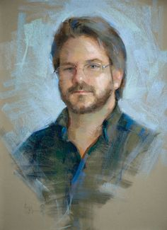 greg   pastel portraits, Greg (pastel) by Alain J. Picard