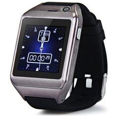 Pantalla táctil inteligente Reloj D18 Teléfono respuesta y marcar el teléfono Bluetooth fotografía solo SIM