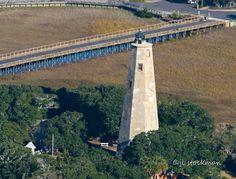 Old Baldy - Bald Head Island Lighthouse Print By Jennifer Stockman Nc Lighthouses, North Carolina Lighthouses, Bald Head Island, Going Bald, Bald Heads, Fine Art America, North America, Art Photography, Places To Visit