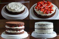 epres brownie torta lépésről-lépésre Mousse, Cheesecake, Sweets, Mini, Foods, Drinks, Food Food, Drinking, Food Items