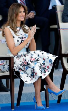 Melania Knauss Trump, First Lady Melania Trump, Ivanka Trump, Elegant Outfit, Fashion Pictures, Pretty Dresses, Business Women, Celebrity Style, How To Look Better