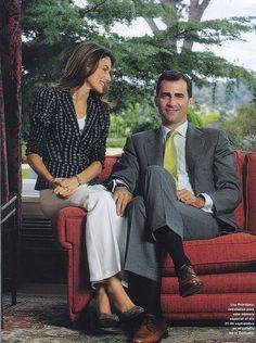 Crown Prince Felipe and Letizia of Spain