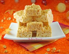 As seen on WKTV NEWSChannel 2 Embellish the time-honored recipe for marshmallow treats with the yummy flavor of butterscotch for quick to prepare snacks that are perfect for a crowd. Ideal for chil...