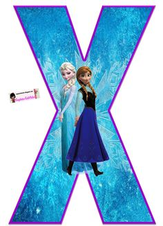 Frozen: Free Elsa and Ana Alphabet. Frozen: Bello Alfabeto Gratis de Elsa y Ana. Frozen Birthday Party, Frozen Tea Party, Frozen 1, Sofia The First Birthday Party, Disney Frozen Birthday, Frozen Theme, Diy Crafts For 5 Year Olds, Disney Alphabet, Alphabet And Numbers