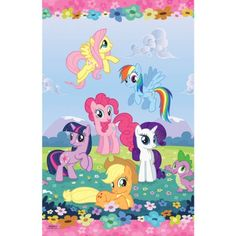 Amscan - My Little Pony Friendship Magic Paper Tablecover, Multi-colored [Toy] Amscan,http://www.amazon.com/dp/B00B9KZC12/ref=cm_sw_r_pi_dp_tVD1sb0VDMM2C8KY
