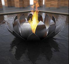 alena colombo fire sculpture