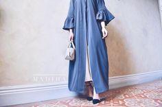 185 Likes, 20 Comments - abayahs Modest Fashion, Women's Fashion, Abaya Designs, Abayas, Duster Coat, Kimono, Colours, Sleeves, How To Wear