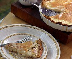 homemade custard pie recipe
