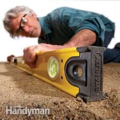 How to use a plumb and level for everyday jobs around the home.