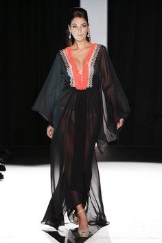 Couture Collection, Kaftan, Kimono Top, Cover Up, Chiffon, Black, Tops, Dresses, Women