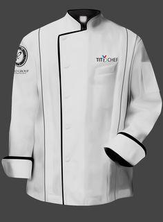 Tito Chef Jacket- White
