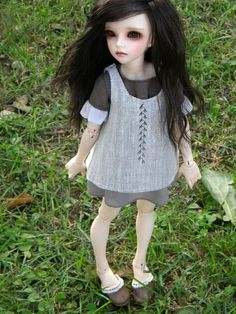 #Minifee #Mirwen #abjd #bjd #doll #fairyland #Msd #Mnf #handmade #clothes #dress #Boho #Mori #Indianini #boots #shoes #suede #leather #metal #studs #lace #Style4Bjd