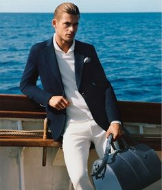 Jacey Elthalion for Louis Vuitton Collection Gentleman Mode, Gentleman Style, Sharp Dressed Man, Well Dressed Men, Fashion Moda, Mens Fashion, Fashion Menswear, 3d Fashion, Fashion Designer