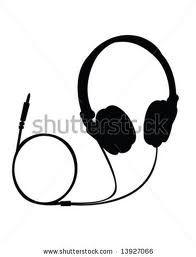 retro headphone vector free download - Szukaj w Google