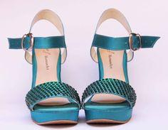Zapatos de Novia, Rodrigo Hernández Color Verde Búscanos en Facebook Rodrigo Hernandez