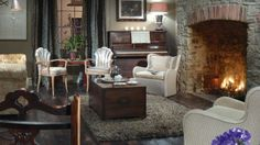 The New White Lion Boutique Hotel and food