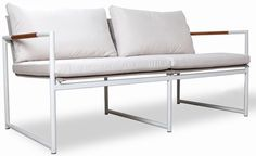 'Breeze Two Seater Sofa by Harbour Outdoor. @2Modern'