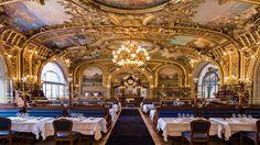 → Accueil | Restaurant Gastronomique au coeur de la Gare de Lyon - Le Train Bleu - Lieu d'Histoire Paris 12