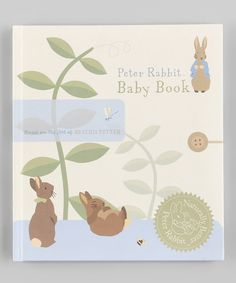 Take a look at this Peter Rabbit Baby Book Hardcover on zulily today!