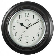 #Clock #JVD Drewniany zegar ścienny N27043.C - Jasněna Vláhová Design - czarny