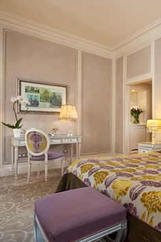 Deluxe Rooms at Hotel Balzac, just off the Champs Elysees, central Paris.