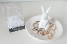Drawing of Bunny Ring Holder – Best Present for Your Sweet One