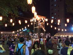 Bon Odori @ Hanazono Shrine