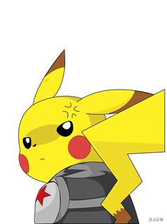 Pikachu's like a Winter Soldier