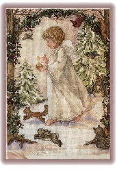 Gallery.ru / Фото #155 - вышивка крестом :Ангелы - Vladikana