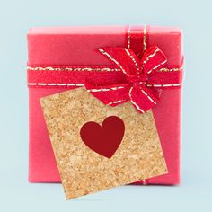 Geschenkkärtchen zur Hochzeit im Kork-Design bestellen