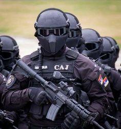 "Serbian Special Police Unit ""SAJ"" "